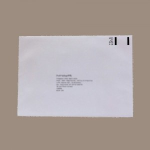 C5 reply paid envelope