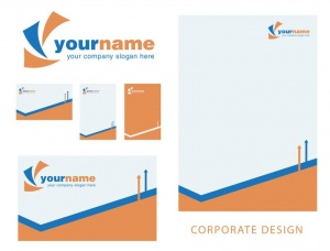 Corporate design set