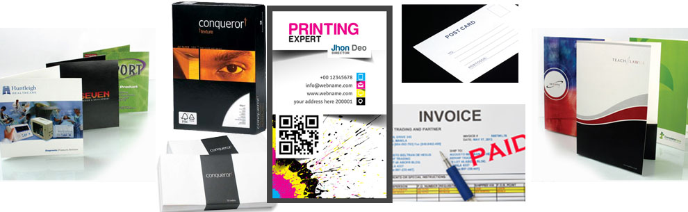 Business cards leaflets booklets invitations posters t shirt click here for quick quote business cards reheart