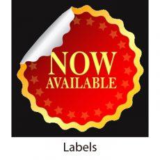 Labels - address labels, product labels, die cut labels