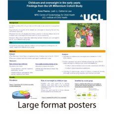 Posters, presentation displays